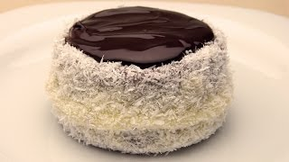 Mini Coconut And Chocolate Cakes Recipe