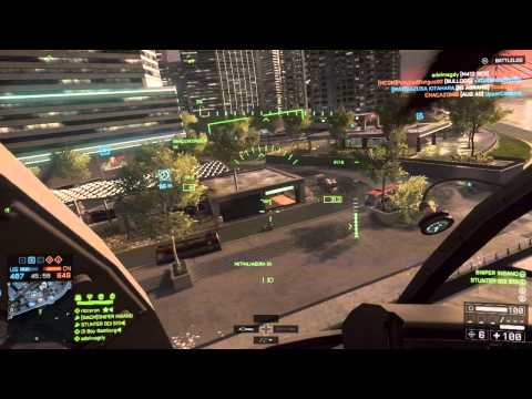 Battlefield 4 #Gameplay Little Bird 32/0 !d volta ao Bf !