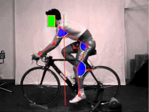 Biomecacycle cycliste pro de profil youtube - Velo salle de sport pro ...