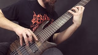 """DYING FETUS - """"Pissing In The Mainstream"""" on bass"""