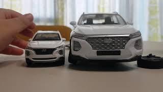 tm싼타페 큰 자동차 작은 자동차 구별