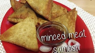 Keema(minced Meat) Samosa By Chef Shaheen
