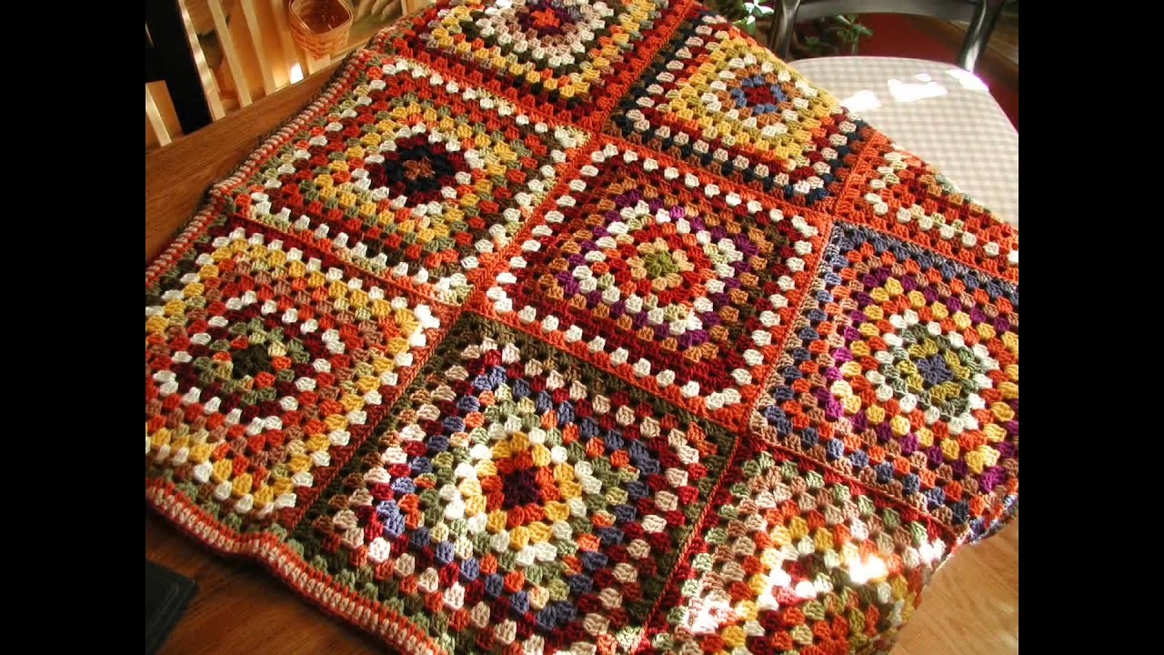 Crochet Pattern For Granny Square Poncho Youtube