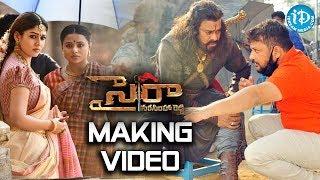 Mega Star Chiranjeevi's Sye Raa Latest Making Video ||Sye Raa Narasimha Reddy Movie||iDreamFilmnagar