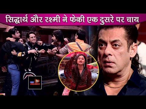 Bigg Boss 13 Review: Rashami Desai & Siddharth Get Into Physical Fight, Salman & Team In Shock