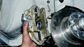 Как снять тормозной суппорт Ваз для замены цилиндра.