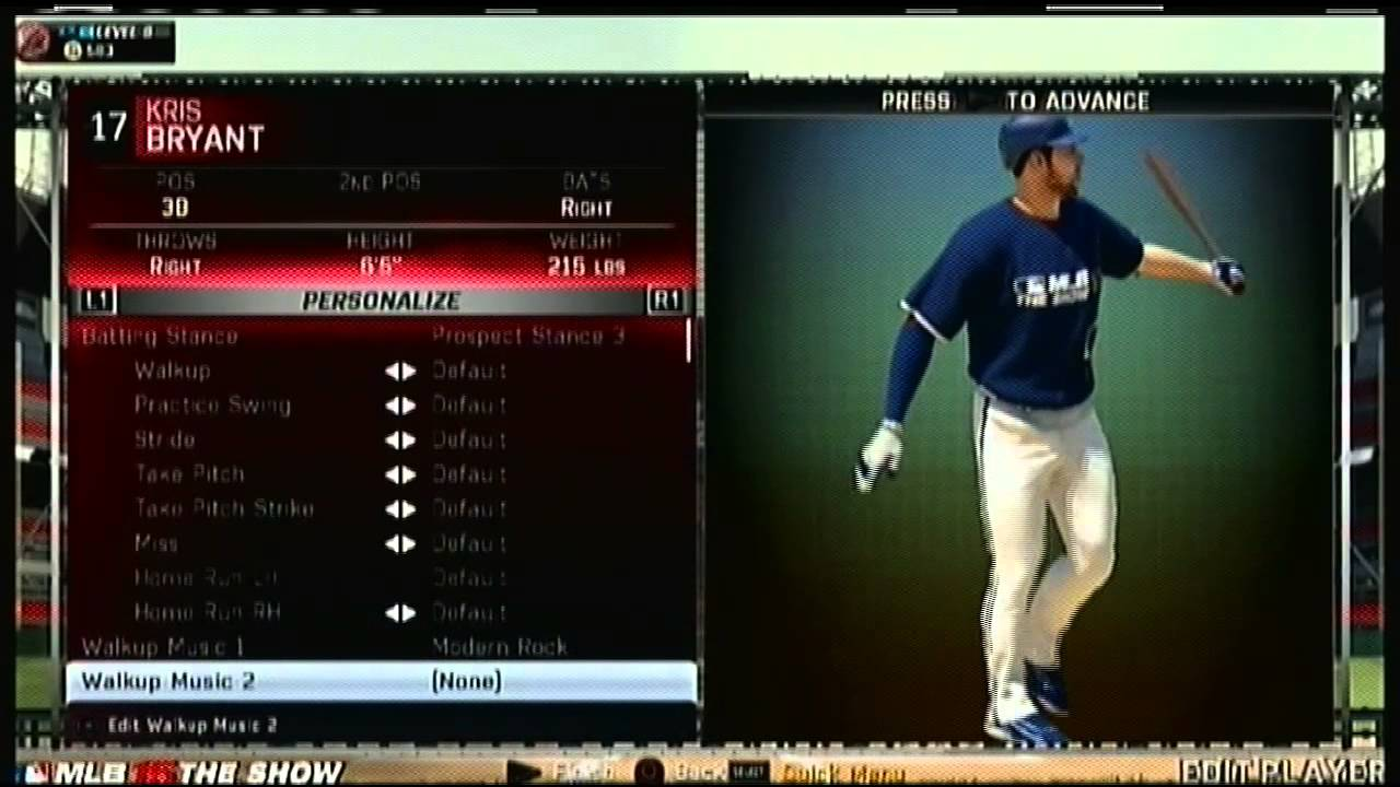 MLB 15 The Show Roster UPDATE 4202015 Chicago Cubs Kris