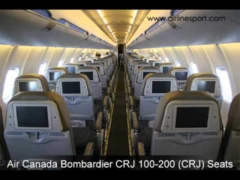 Air Canada Seats Youtube