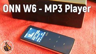 ONN W6 - MP3 плеер с Bluetooth - Обзор