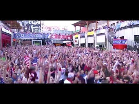 USA vs Ghana  John Brooks Goal Reactions  Everyone Goes Nuts! 2014 Reaction Compilation