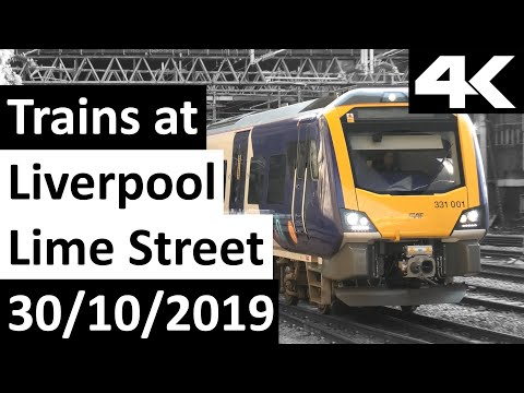 Trains At Liverpool Lime Street 30/10/2019