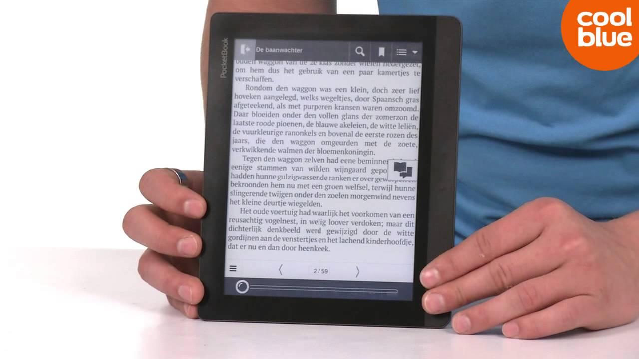 Pocketbook InkPad eReader Productvideo (NL/BE)