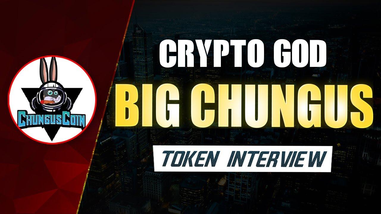 CHUNGUS COIN INTERVIEW(CRYPTO GOD PODCAST)