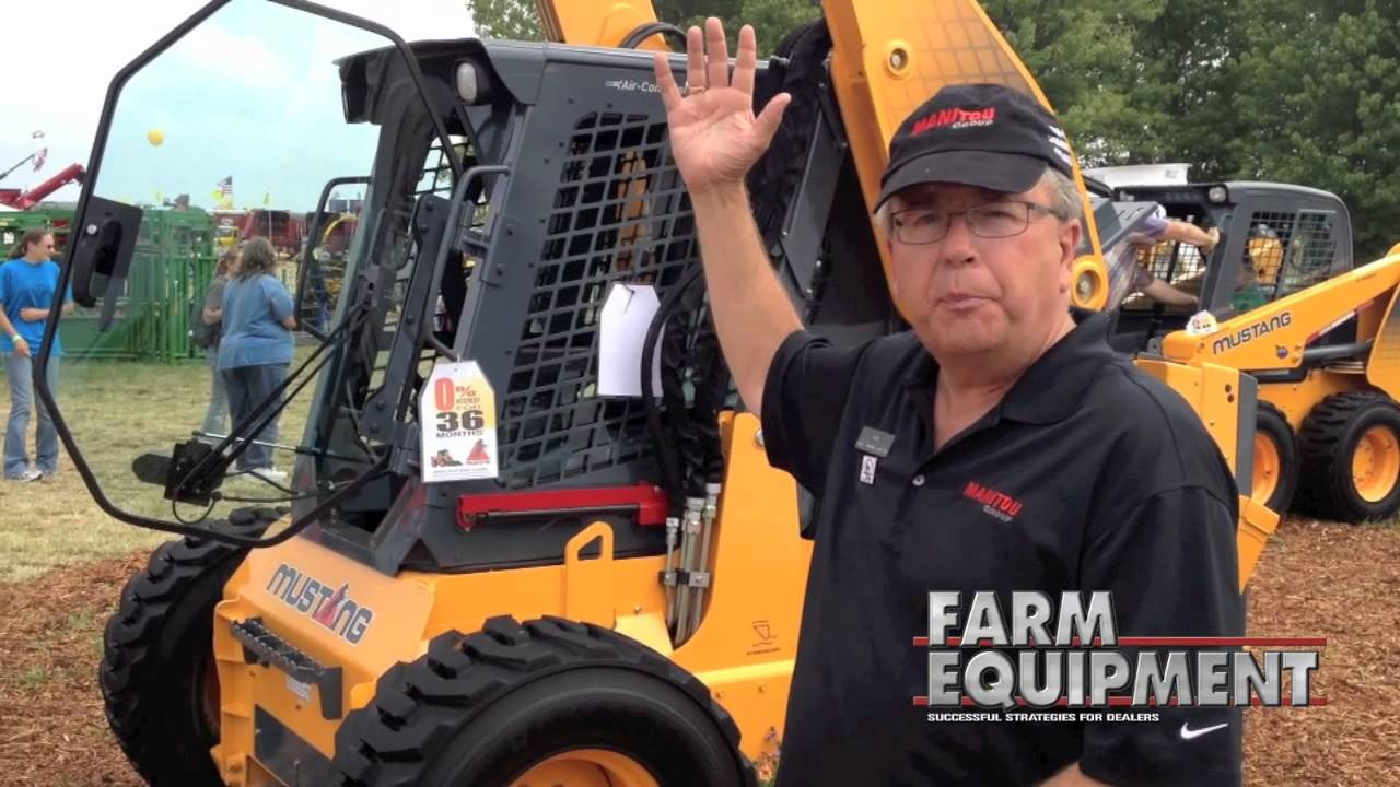 New Mustang 4000V Skid Steer Loader from Manitou Group