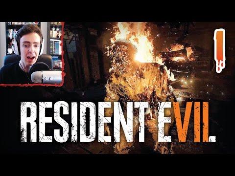 RESIDENT EVIL 7 #01   Je flippe en live !