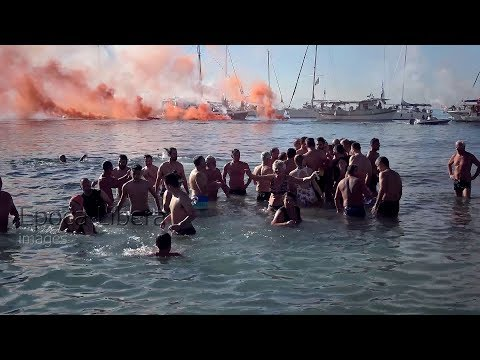 The Celebration of Epiphany Day 2018 in Greece