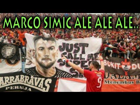 PERSIJA MENANG LAGI ||| MARCO SIMIC ALE ALE ALE...