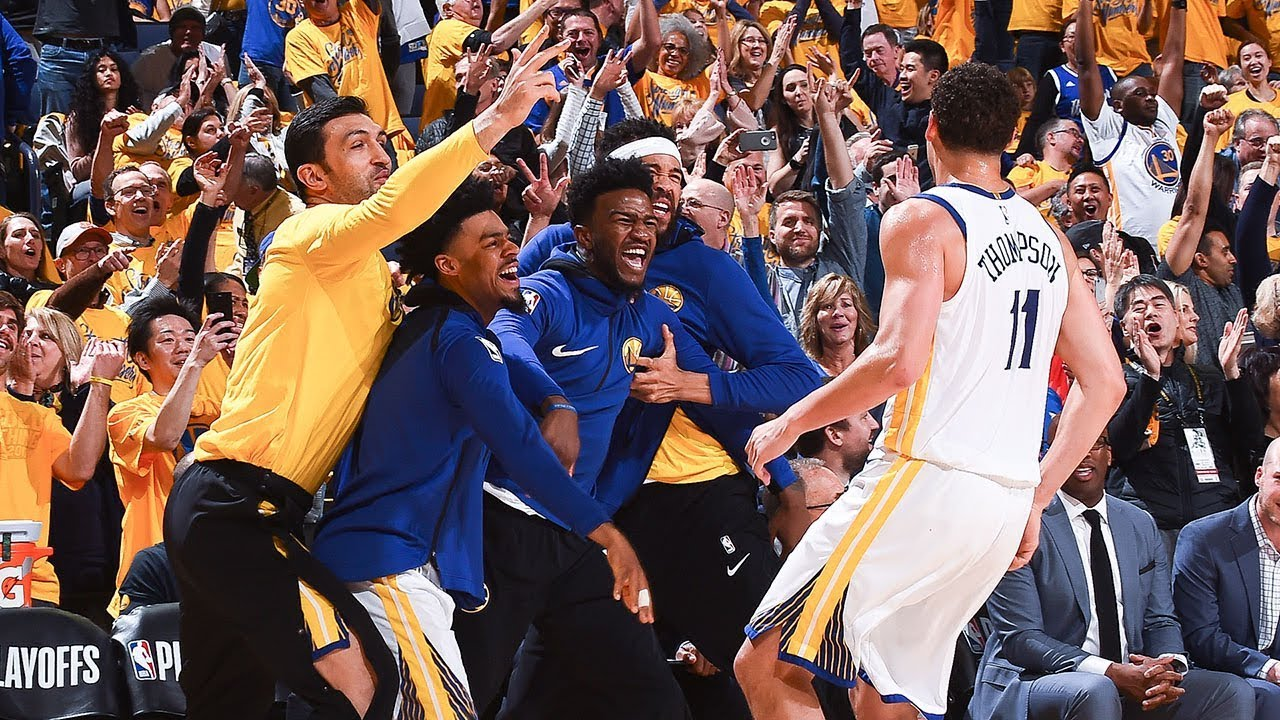 2017-18 Moments of the Year: Bench Reactions
