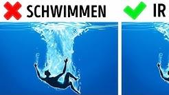 7 einfache Schwimmregeln, die dein Leben retten Können