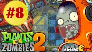 Plants vs. Zombies 2: Far Future - Terror From Tomorrow Endless Waves Part 8