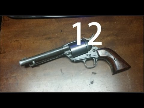 1880's single action revolver built from scratch (part12)