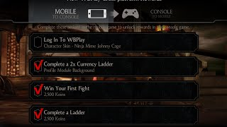 Mortal Kombat X WBPlay Account