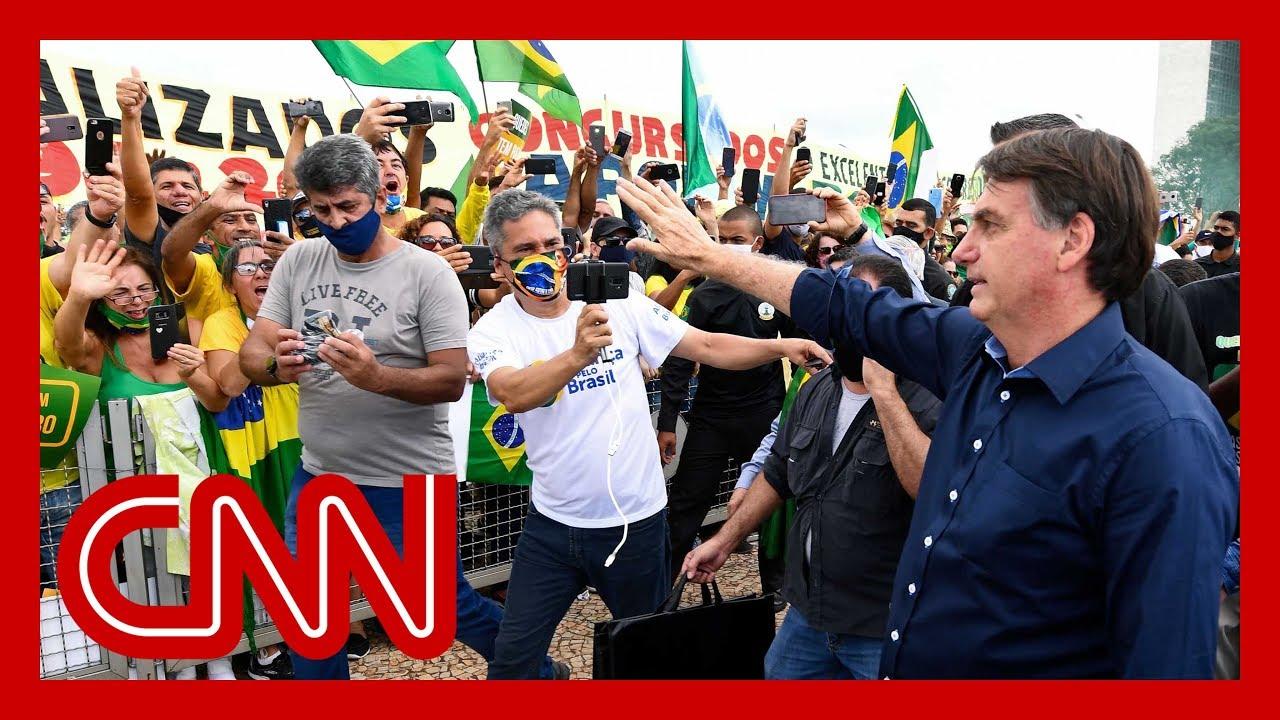 Mayor to Brazil President Jair Bolsonaro: 'Please shut up and stay home'