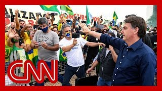 Mayor to Brazil President Jair Bolsonaro: 'Please shut up and stay home'