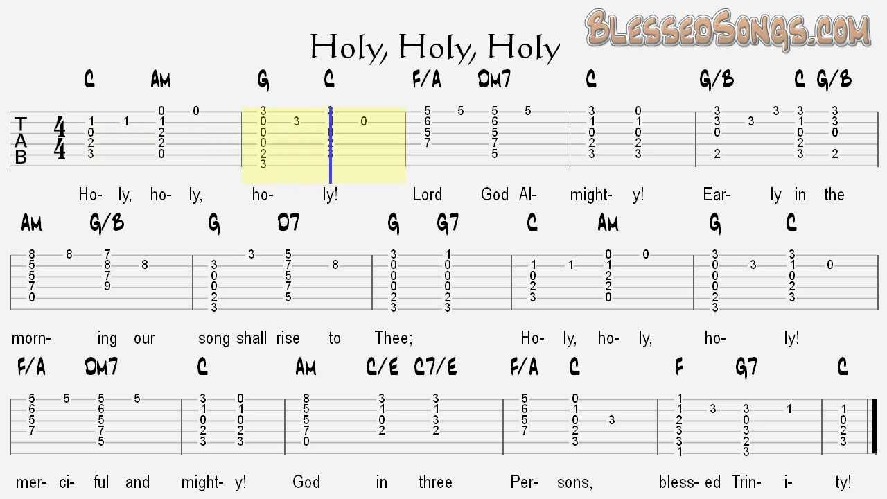 Hymnal guitar chords