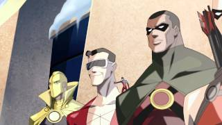 "DC Nation - Young Justice ""Usual Suspects"" Video Clip #1"