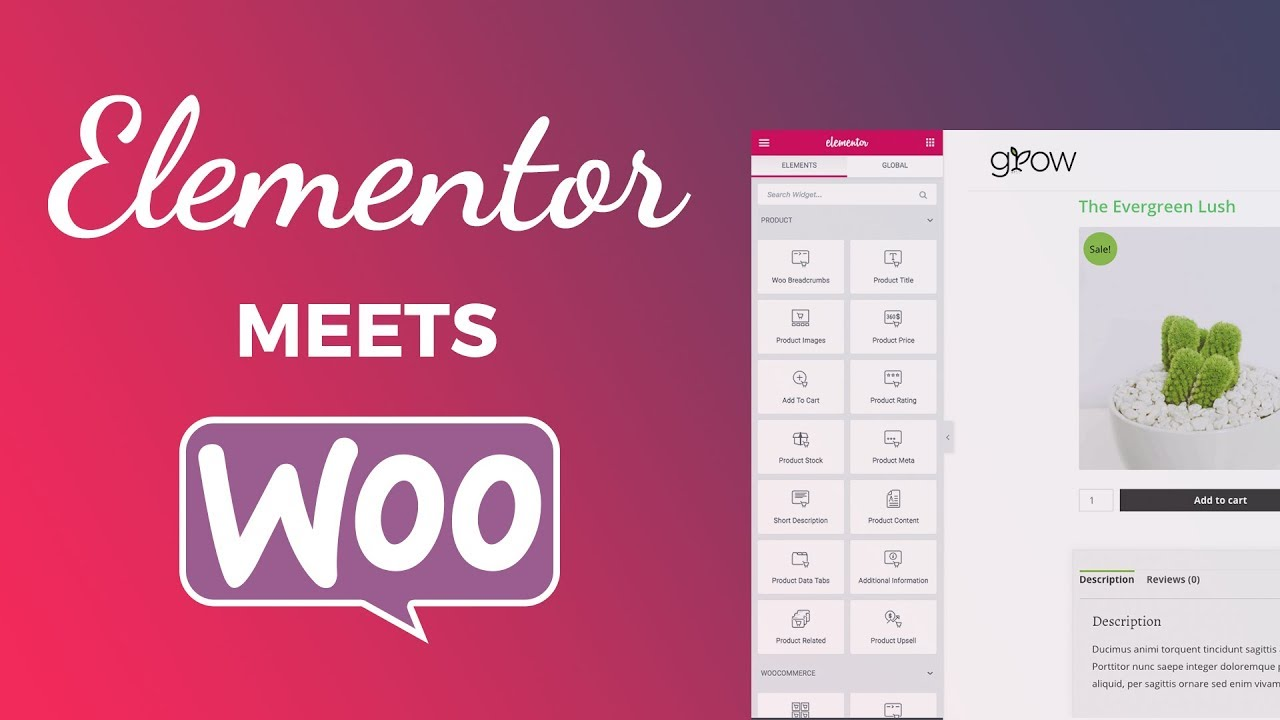 Single Product Page Woocommerce Template