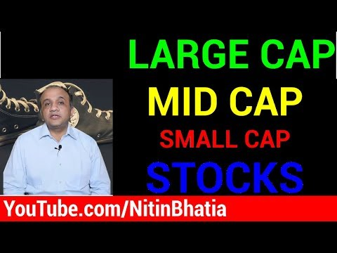 Large Cap, Mid Cap and Small Cap Stocks - Market Capitalization [HINDI]