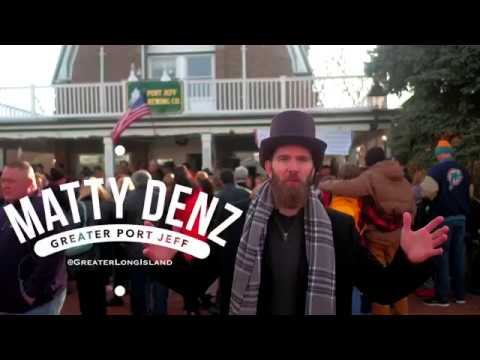 Matty Denz hits up Dickens Fest in Port Jeff
