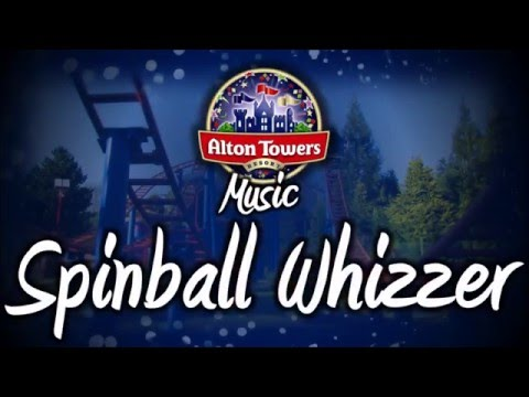 Alton Towers Music - NEW Spinball Whizzer Music 2016
