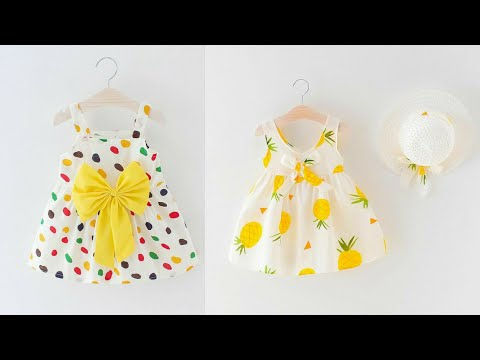 DIY Baby DIY Cute Baby Frock Designs