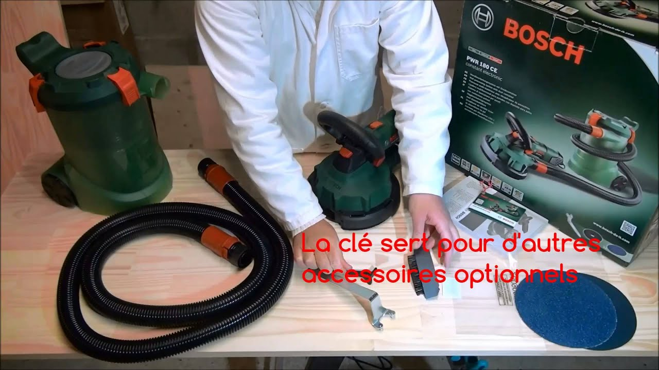 bosch pwr 180 ce ponceuse multimat riaux communaut le coin des bricoleurs youtube. Black Bedroom Furniture Sets. Home Design Ideas
