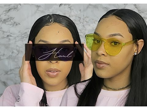 INSTAGRAM BADDIE INSPIRED SUNGLASSES HAUL [ROMWE] // AFFORABLE $5 AND UP