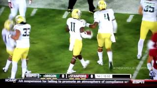 Oregon Ducks Defense and Special Team Highlights 2013