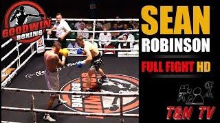 Sean Robinson vs John Brennan (Southern Area Super Welterweight Title)