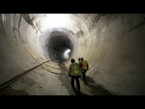 So Chicago: Deep tunnel, marvelous site