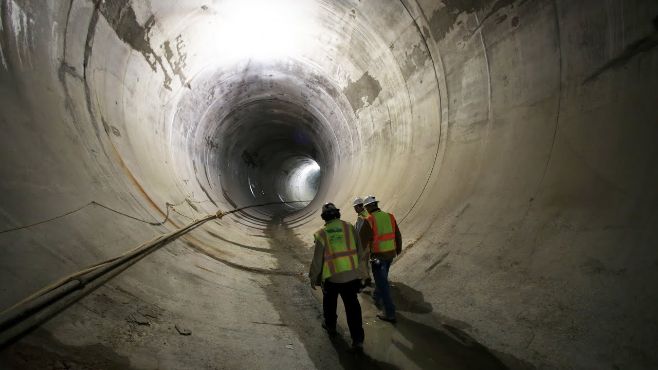 So Chicago Deep Tunnel Marvelous Site Youtube