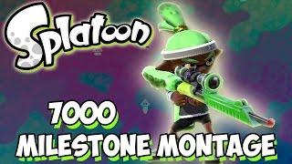 """Splatoon MileStone Montage 7000 """"Tunnel Vision"""""""