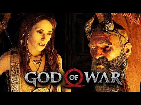 God of War Gameplay German #31 - Freya und der tote Kopf