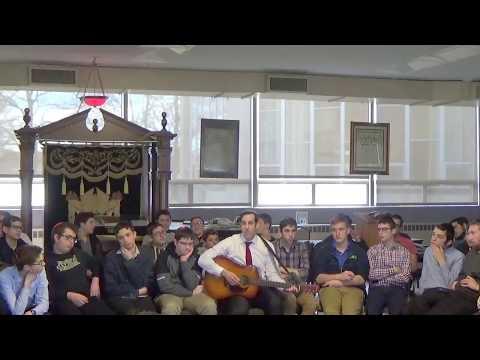 Kumzitz at Fasman Yeshiva High School with Rabbi Reuven Brand