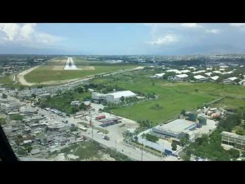 Amazing Port-au-Prince MD-80 Cockpit Video, MTPP Toussaint L