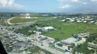 Amazing Port-au-Prince MD-80 Cockpit Video, MTPP Toussaint Louverture International Haiti HD720p