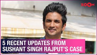 Sushant Singh Rajput's case 5 recent updates | BJP MP's claims, revelations by office boy \u0026 more