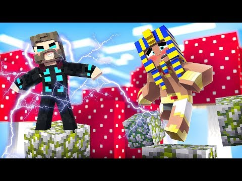 Minecraft: PODER DO THOR *deus do trovão* - PARKOUR HACKER ‹ Koow ›