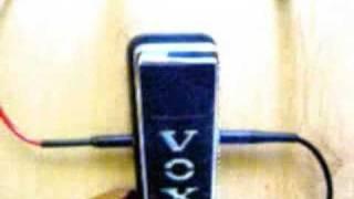 Vox V847 wah wah TEST !!!!!!
