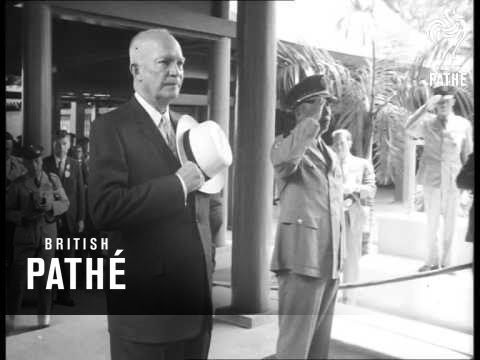 Eisenhower In Taiwan (1960)